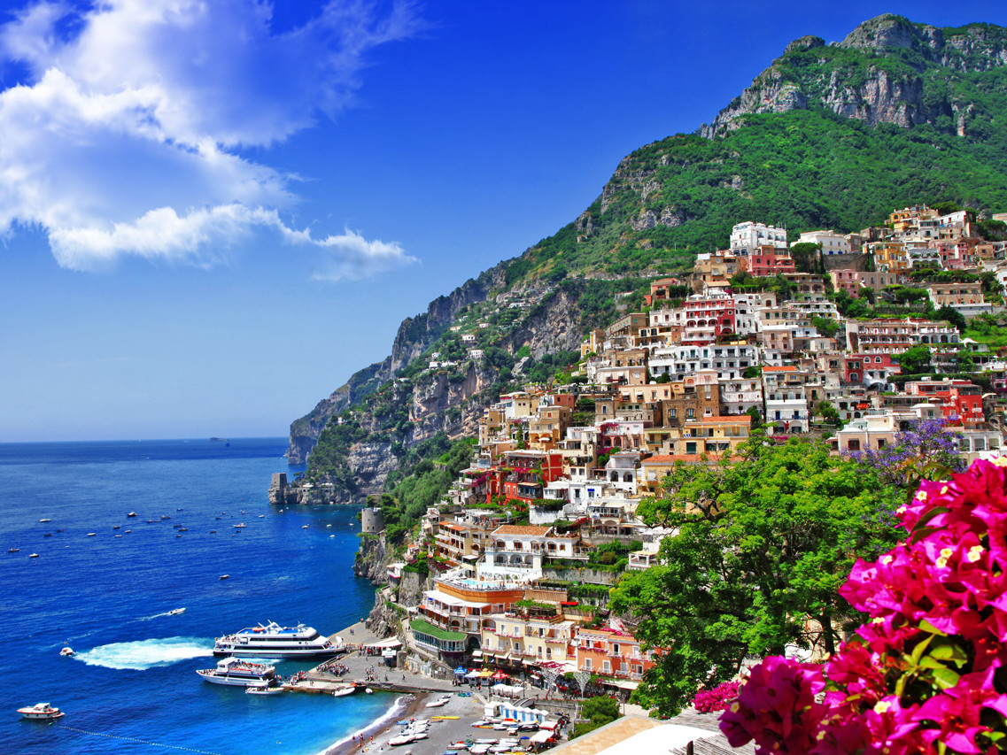 Positano, Pompeii shore excursion from Naples | Star cars luxury tours