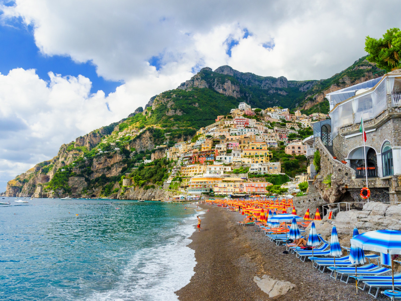 Positano, Pompeii shore excursion from Salerno| Star cars luxury tours