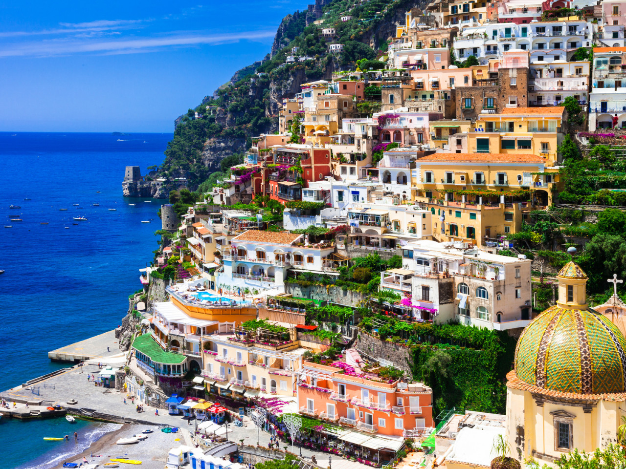 Positano, Pompeii shore excursion from Amalfi | Star cars luxury tours